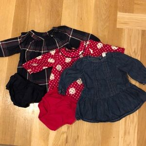 BabyGap dress bundle
